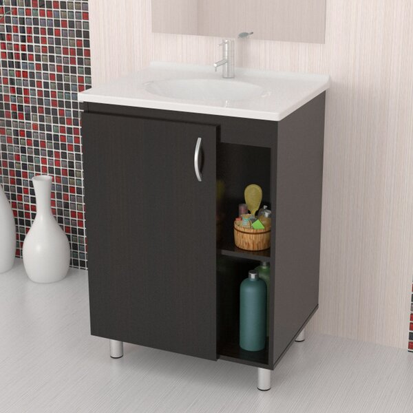 River 24 Bathroom Single Vanity Set by Ebern DesignsRiver 24 Bathroom Single Vanity Set by Ebern Designs