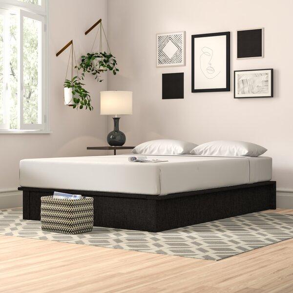 Nakasi Upholstered Platform Bed by Zipcode Design