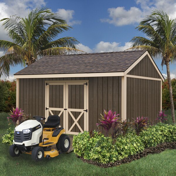 Brookfield Without Window 16 ft. W x 12 ft. D Solid Wood Storage Shed by Best Barns
