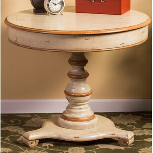Leer End Table