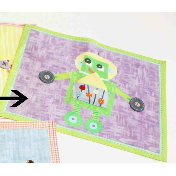 Robot Placemat by The Little Acorn