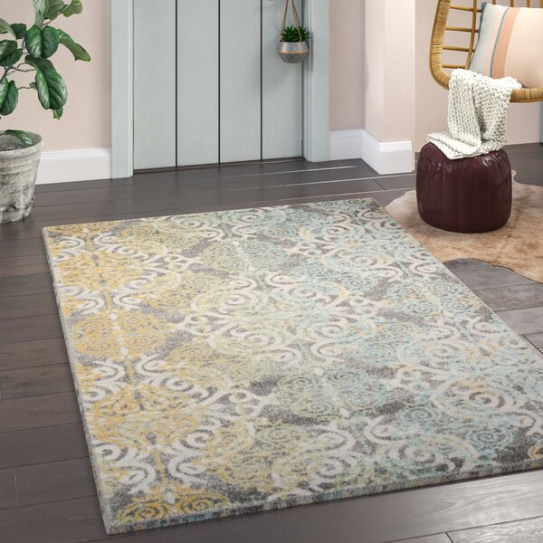 Elson Grey Area Rug by Mistana