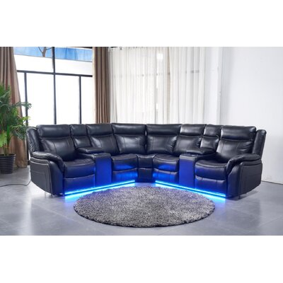 Leather Reversible Sectionals You Ll Love In 2020 Wayfair