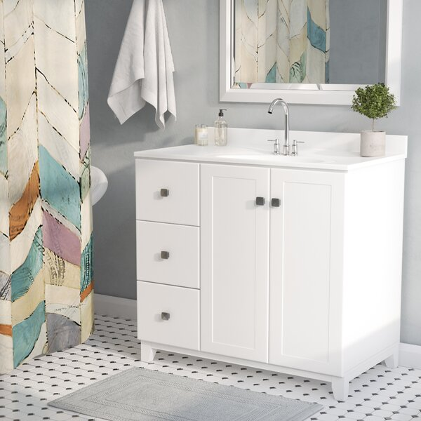 Rosalynn 2-Door 37 Single Bathroom Vanity by Ebern Designs