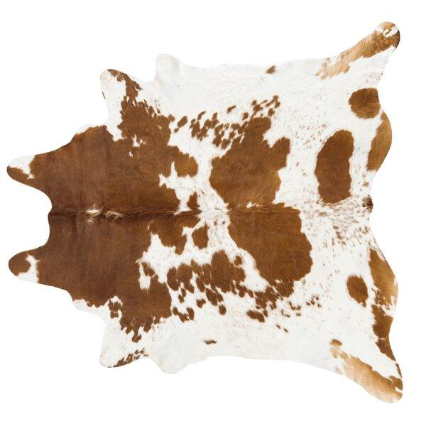 Handmade Brown/White Area Rug by Pergamino
