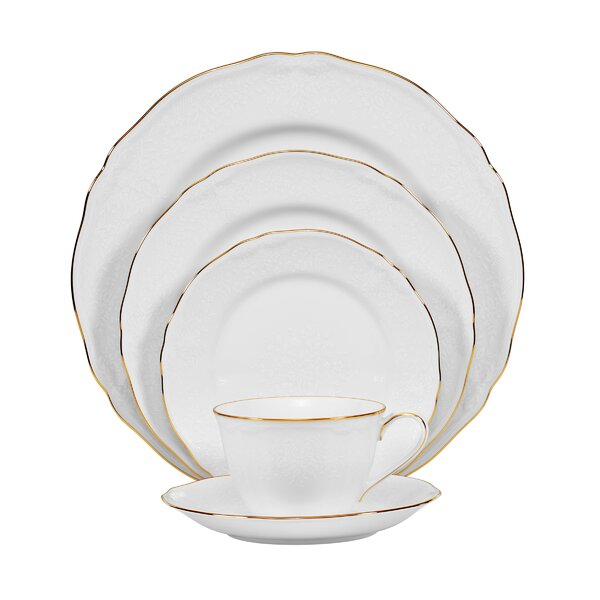 Princess Bouquet 5 Piece Place Setting, Service for 1 by Noritake