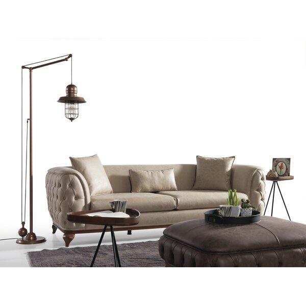 Villanova 100'' Round Arm Sofa by Canora Grey Canora Grey