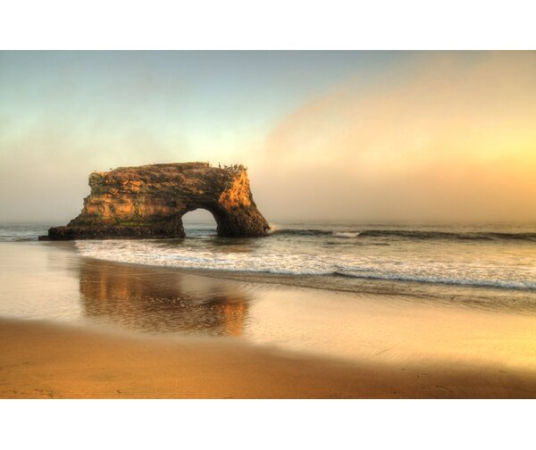 Santa Cruz Natural Bridge California by Kelly Wade Photographic Print on Wrapped Canvas by Hadley House Co