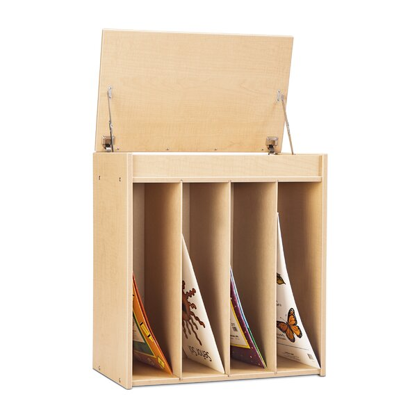 4 Compartment Book Display by Young Time