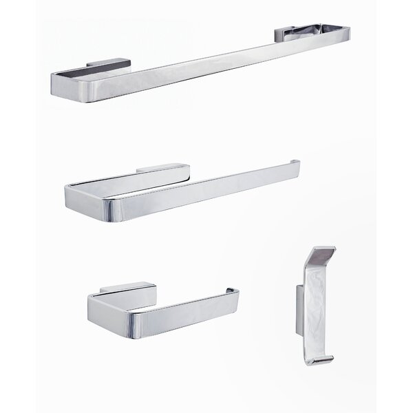 Vaasa 4 Piece Bathroom Hardware Set by Sure-Loc Hardware