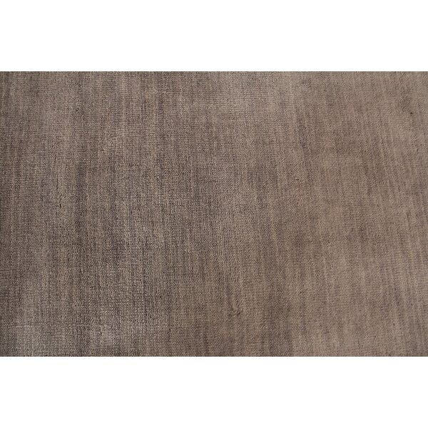 Hand Woven Wool Gray Area Rug by Exquisite Rugs