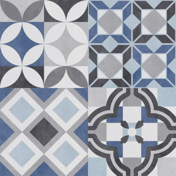 Bouquet 9 x 9 Porcelain Mosaic Tile