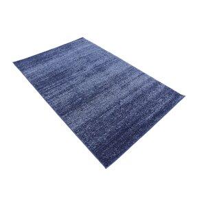 Wyble Blue Area Rug
