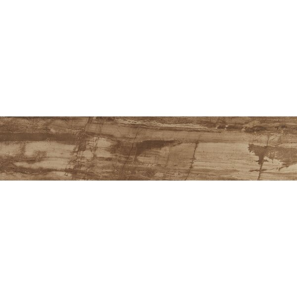 Mansfield 8 x 36 Porcelain Wood Look Tile in Muddy Banks by Itona Tile
