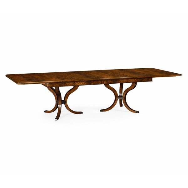Brompton Extendable Solid Wood Dining Table by Jonathan Charles Fine Furniture