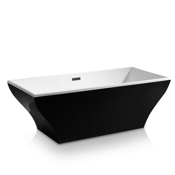 67 x 32 Freestanding Soaking Bathtub by AKDY