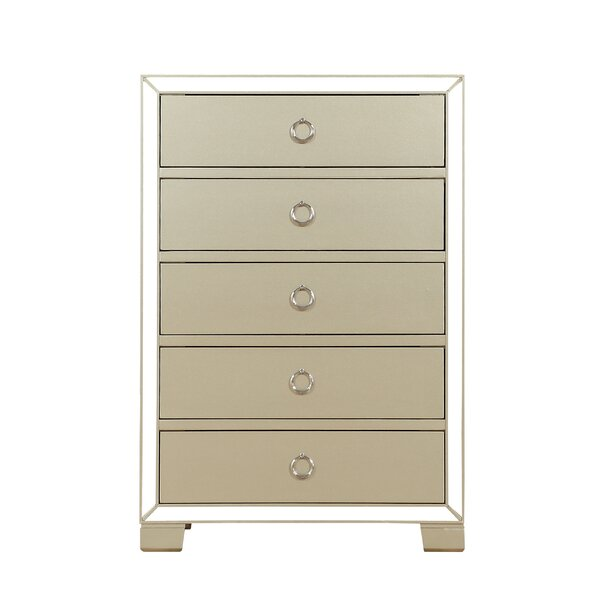 Humes 5 Drawer Chest by Everly Quinn