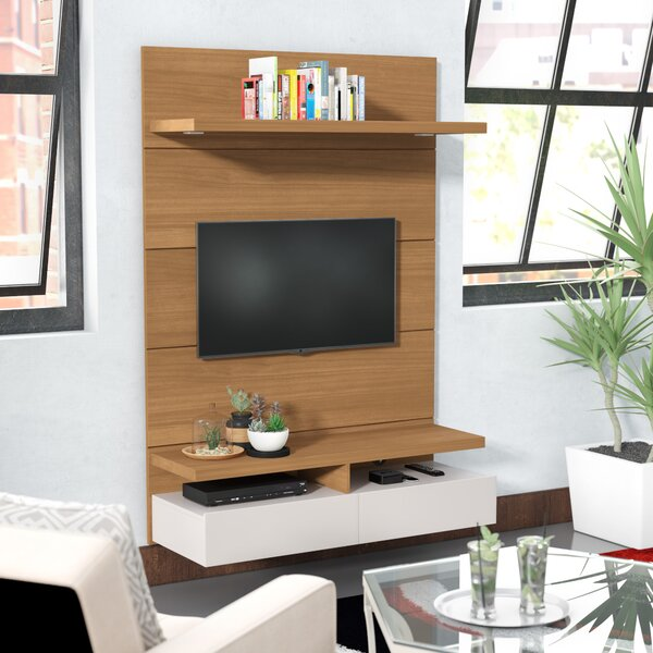 Newburyport Floating Wall Theater 67.24 Entertainment Center by Orren Ellis