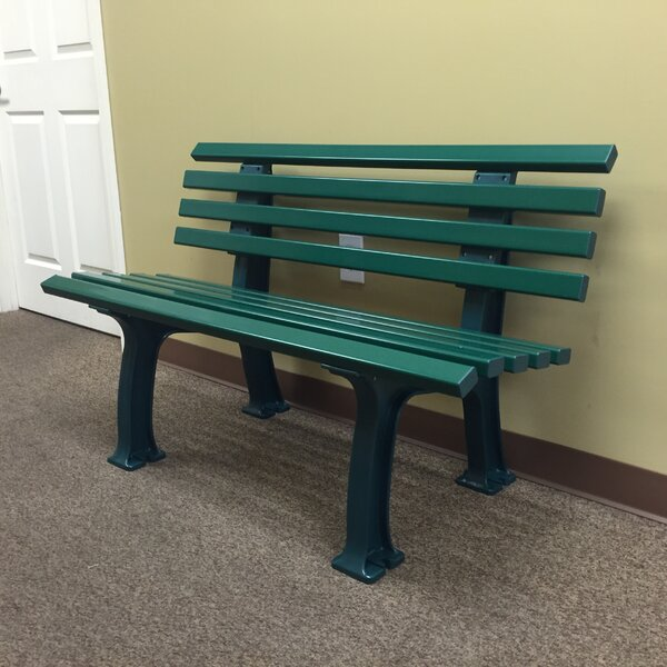 Aidan Courtside Plastic Park Bench by Freeport Park