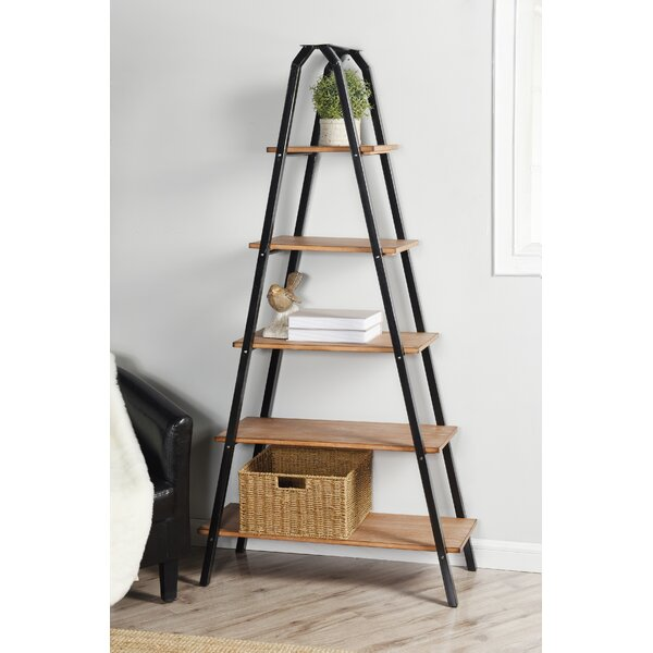 Maidste Ladder Bookcase by Three Posts