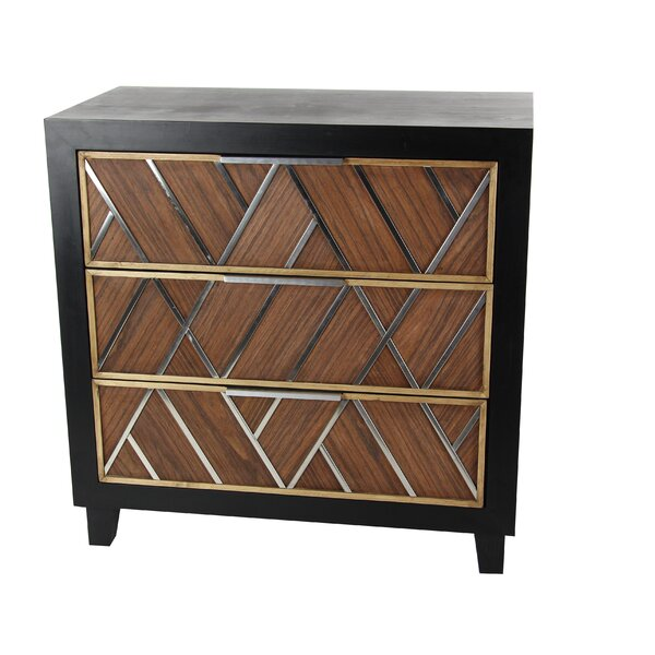 Vroman 3 Drawer Chest by Union Rustic