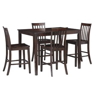 Find the perfect Rolle 5 Piece Pub Table Set By Charlton Home