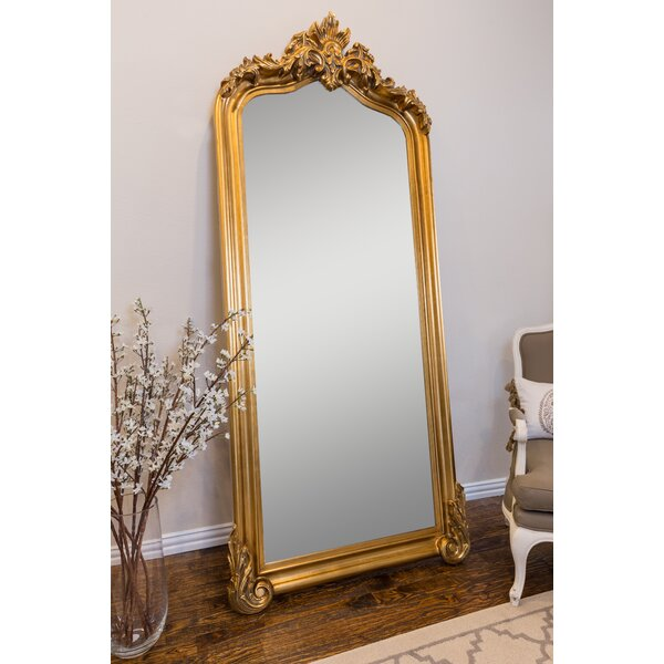 Large Gold Ornate Floor Mirror Wayfair