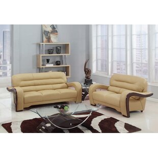 Darra 2 Piece Standard Living Room Set by Orren Ellis