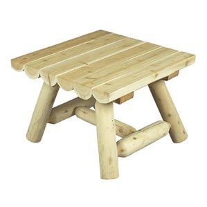 Square Cedar Coffee Table