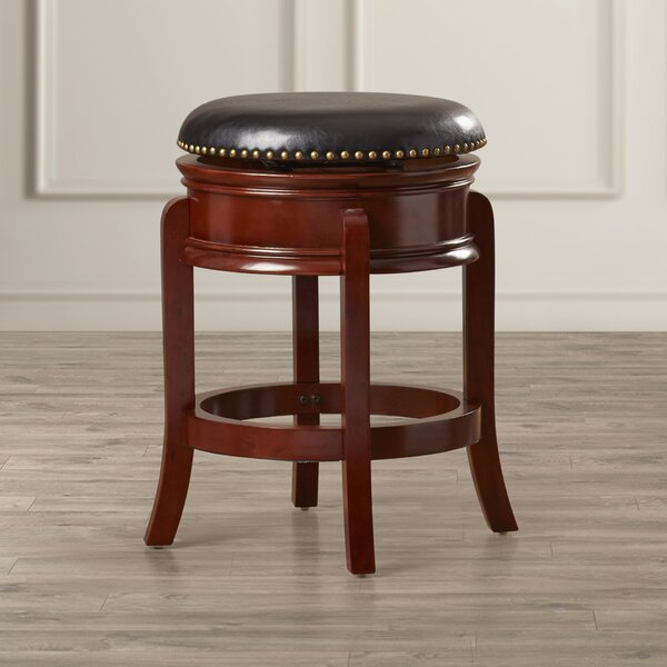 Kingsford 24 Swivel Bar Stool by Charlton Home