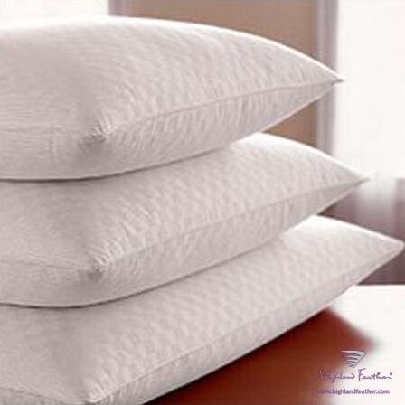 Damask Hutterite Goose - Level I Down Pillow by Highland Feather