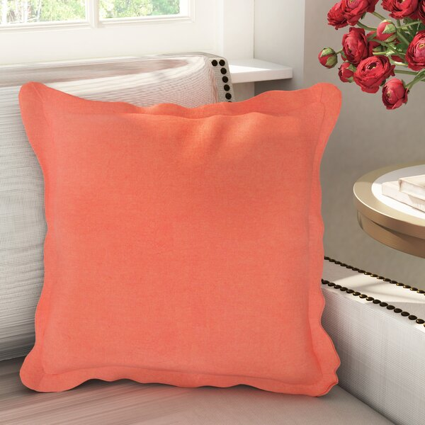 Anastagio Polyester Cotton Throw Pillow by Willa Arlo Interiors