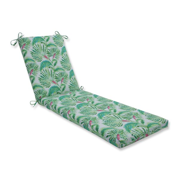 Emmanuelle Indoor/Outdoor Chaise Lounge Cushion By Bay Isle Home