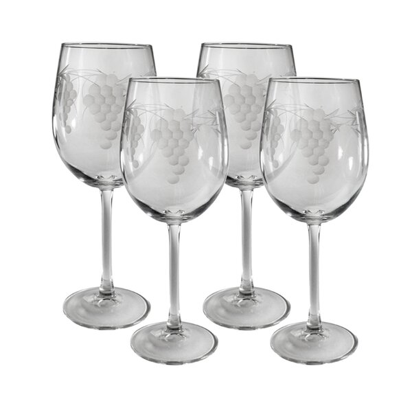Sonoma Wine Glass (Set of 4) by Susquehanna Glass