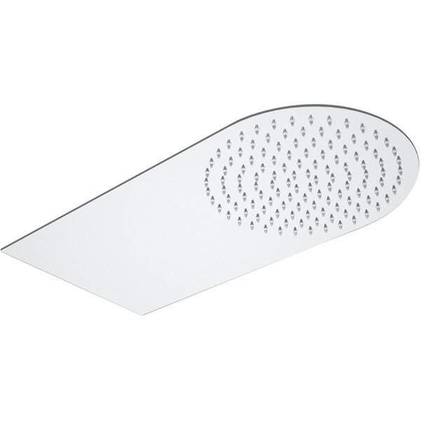 Round Rain Fixed Shower Head by AGM Home Store