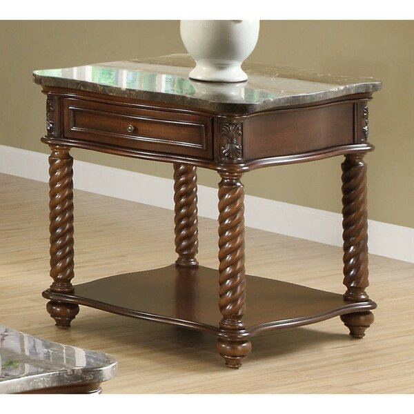 Belhaven Wooden End Table with Storage by Canora Grey