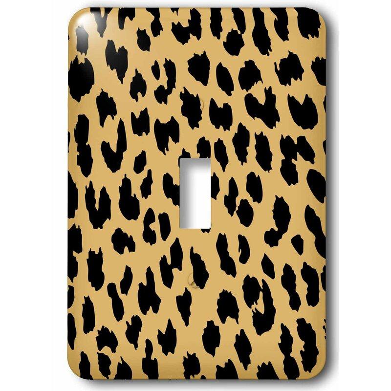 3drose Cheetah 1 Gang Toggle Light Switch Wall Plate Wayfair