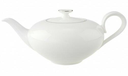 Anmut 1.05-qt. Platinum Teapot by Villeroy & Boch