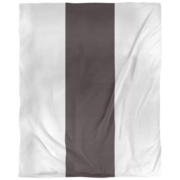 Cleveland Throwback Arizona Football Stripes Single Duvet Cover