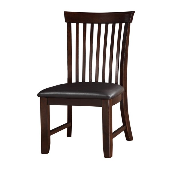 Kinclair Slat Back Side Chair In Brown (Set Of 2) By Winston Porter