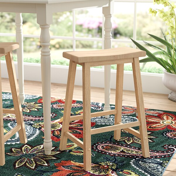 Saunders 24 Bar Stool by Andover Mills