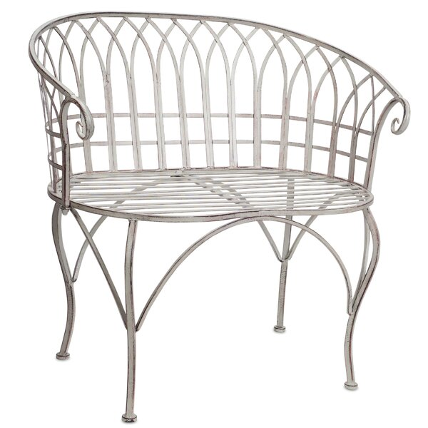 Trumbauer Aluminium Garden Bench by Ophelia & Co.