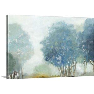 'Blueberry Hill' Print on Canvas by Charlton Home