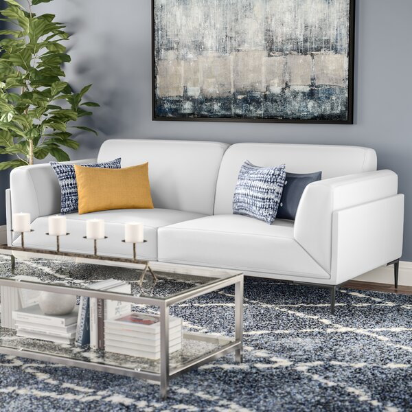 Modern Collection Brisbin Sofa by Wade Logan by Wade Logan
