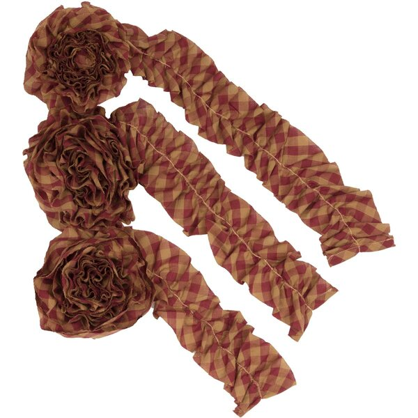 Check Garland (Set of 3) by The Holiday Aisle