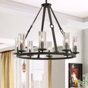Great choice Dakota 8-Light Wagon Wheel Chandelier By Hinkley Lighting