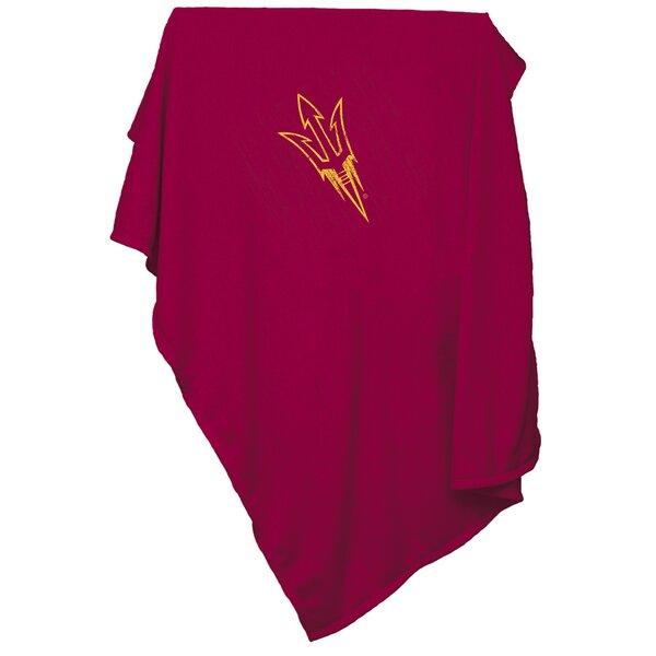 Arizona State Sweatshirt Blanket by Logo Brands