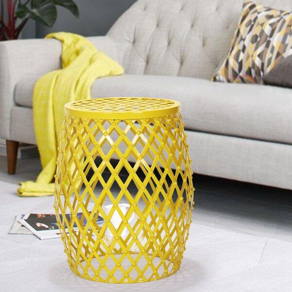 Tatjana Home Garden Accent Wire Round Stool by Zipcode Design