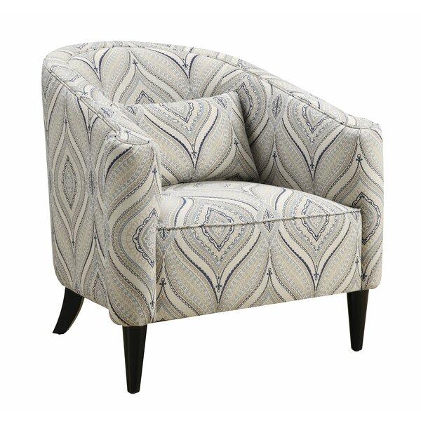Bluff Barrel Chair by Red Barrel Studio