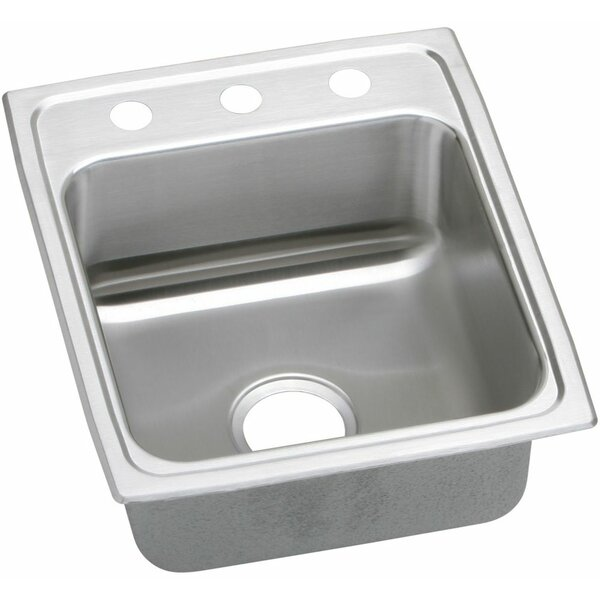 Lustertone 17 L x 20 W Drop-In Kitchen Sink by Elkay